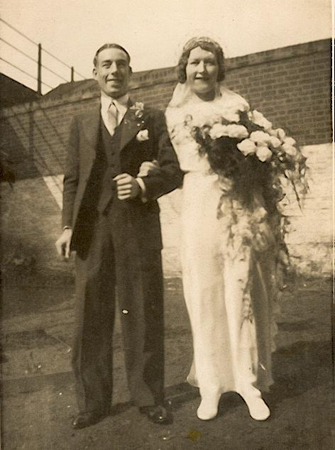 Marriage of Lilian May Golesworthy and Charles Leonard Reuby, 1935