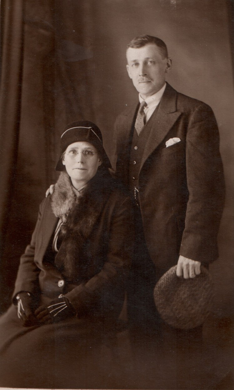 Alfred and Lizzie Coates
