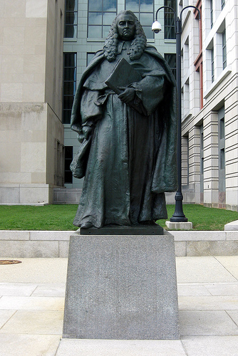 Statue of Sir William Blackstone in Washington DC