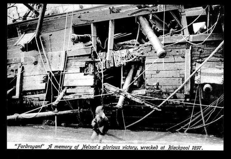 Wreck of HMS Foudroyant