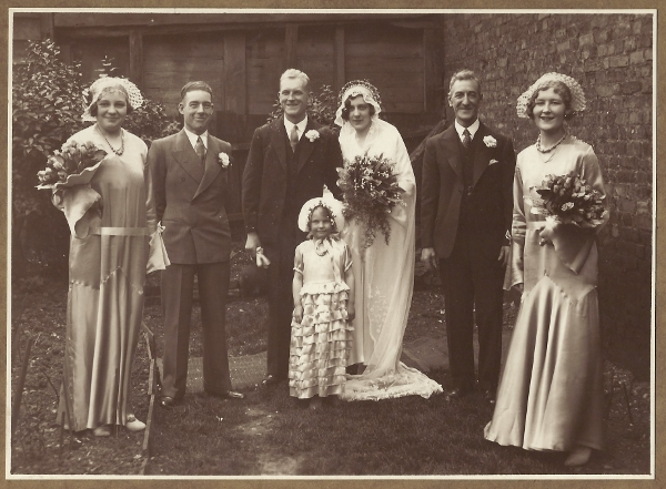 Marriage of Fred Golesworthy to Ada Dearing